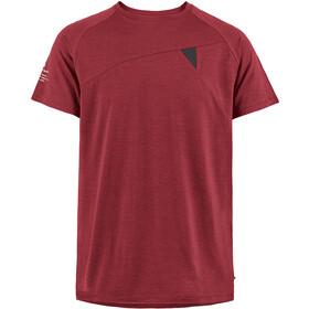 Klättermusen Fafne Koszulka z krótkim rękawem Mężczyźni, czerwony